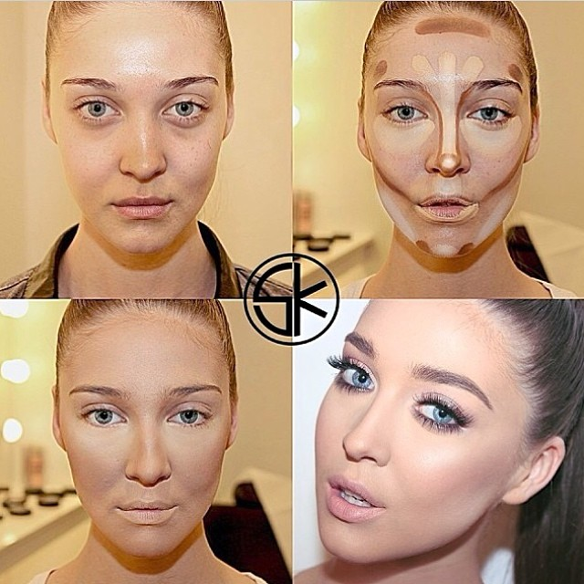 new-makeup-with-how-to-contour-makeup-with-how-to-contouring-and-highlighting-tips-beauty-zone